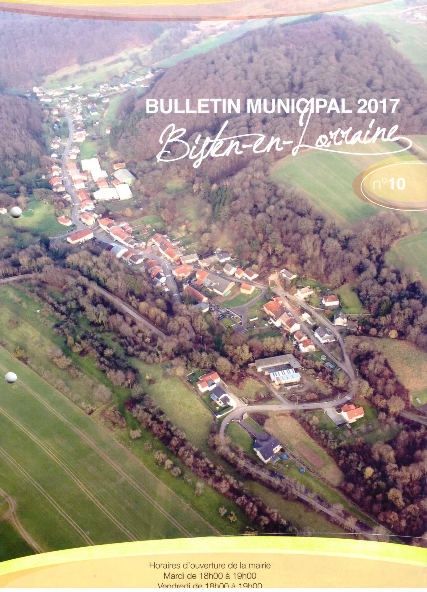 2017 bulletin municipal couverture