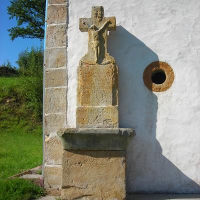 Bisten en lorraine calvaire addose chapelle 2
