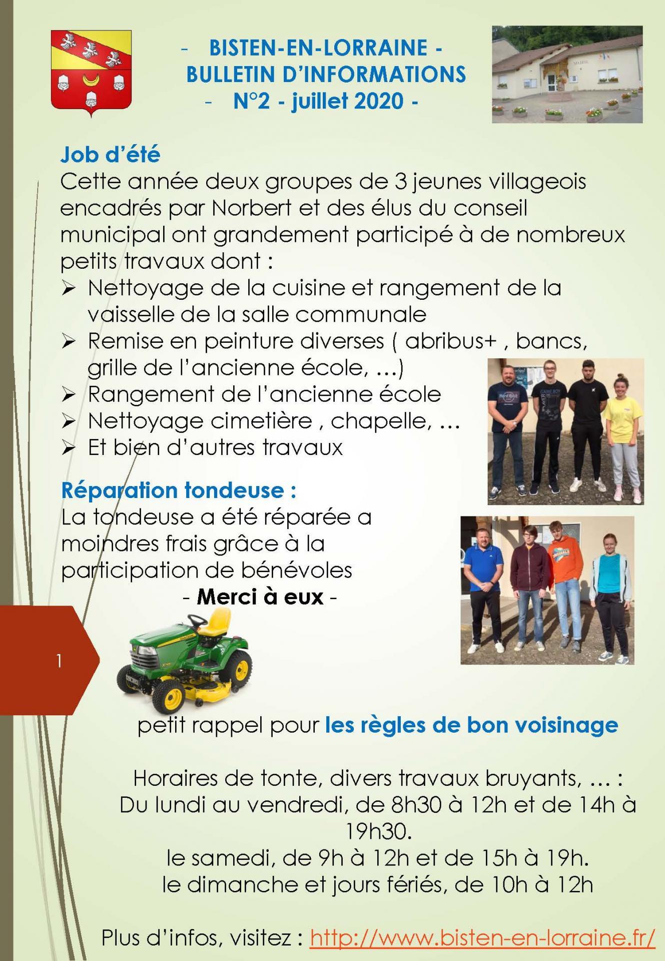 Bulletin info 3 1